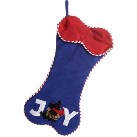 Max Studio Pet Scottie's Joy Pet Stocking