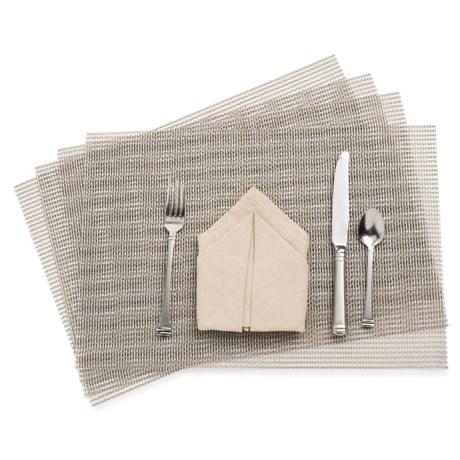 KAF Home Moderne Grid Placemats - Set of 4
