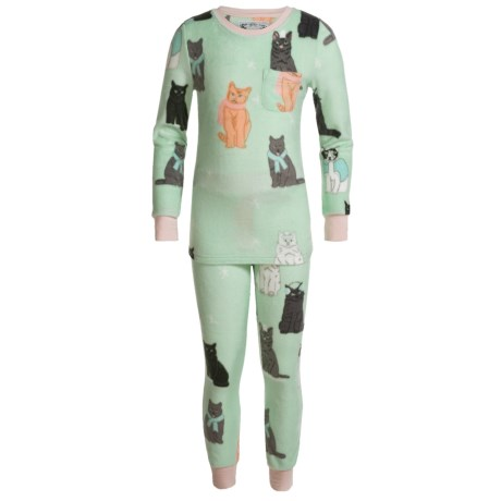Kings N Queens It's Kitten Chilly Pajamas - Long Sleeve (For Little and Big Girls)