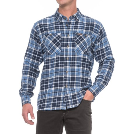 Smith's Workwear Full Swing Flannel Shirt - Button Front, Long Sleeve (For Men)