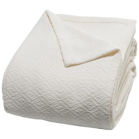 Peacock Alley Diamond Blanket - Queen