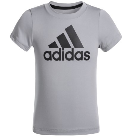 adidas ClimaLite® Logo T-Shirt - Short Sleeve (For Toddlers)