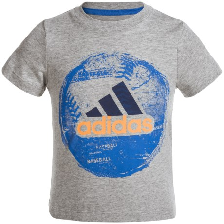 adidas Field and Court T-Shirt - Short Sleeve (For Toddlers)