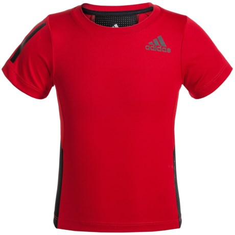 adidas Evolve ClimaCool® Training Shirt - Short Sleeve (For Toddlers)