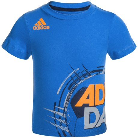 adidas Dynamic Wrap T-Shirt - Short Sleeve (For Toddlers)