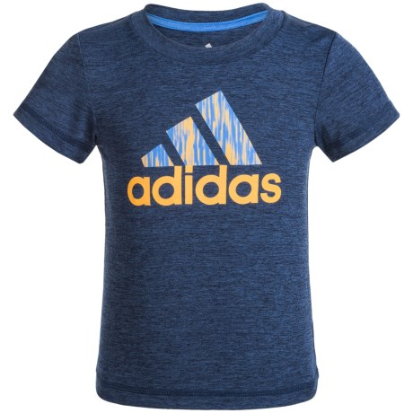 adidas Logo Athletic T-Shirt - Short Sleeve (For Toddlers)