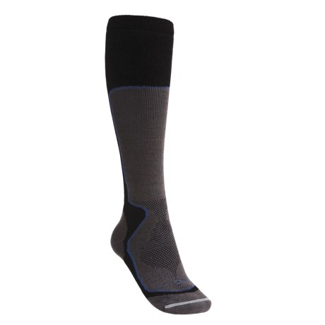 Lorpen Tri-Layer PrimaLoft® Ski Socks - Merino Wool, Medium Cushion, Over-the-Calf (For Women)