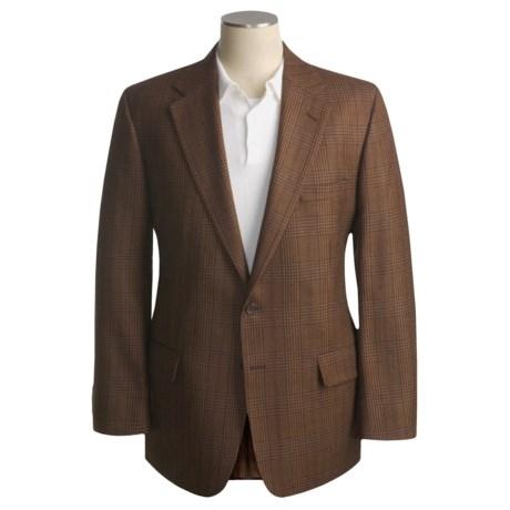 Corbin Brown Plaid Sport Coat - Wool (For Men)