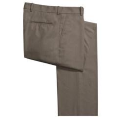 Corbin Prime Poplin Pants - Flat Front (For Men)