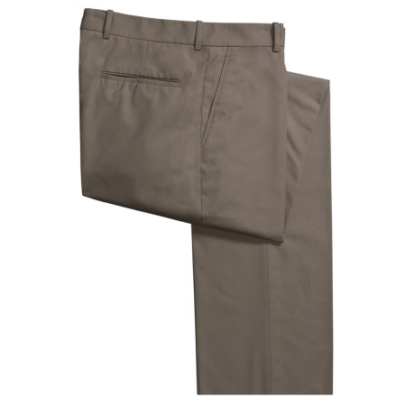 Corbin Prime Poplin Pants - Flat Front (For Men)
