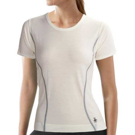 SmartWool Microweight T-Shirt - Merino Wool, Short Sleeve (For Women)
