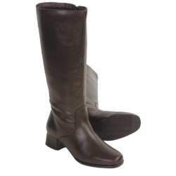 Blondo Doncaster Leather Boots - Suede Lining (For Women)