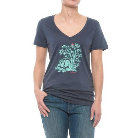 Icebreaker Tech Lite Gone Bush Shirt - Merino Wool, Short Sleeve (For Women)