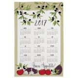 """DII Calendar Cotton Dish Towel - 18.5x28"""""""