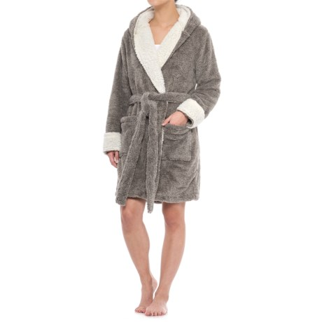 Berkshire Blanket Day Dream Reindeer Robe and Throw Blanket (For Women)