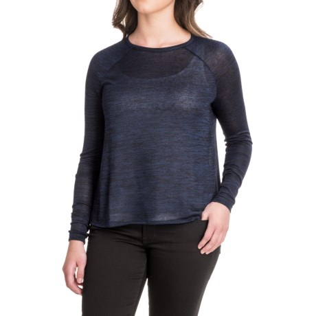 For the Republic Raglan High-Low Hem Shirt - Long Sleeve (For Women)