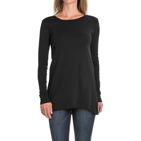 Workshop Republic Clothing Ribbed Shirt - Supima® Cotton, Long Sleeve (For Women)