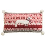 """The Humane Society Nordic Knit Decor Pillow - 14x24"""""""