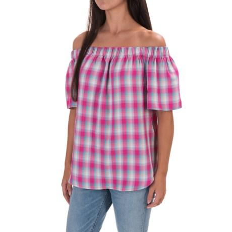 G.H. Bass & Co. Off-the-Shoulder Shirt - Short Sleeve (For Women)