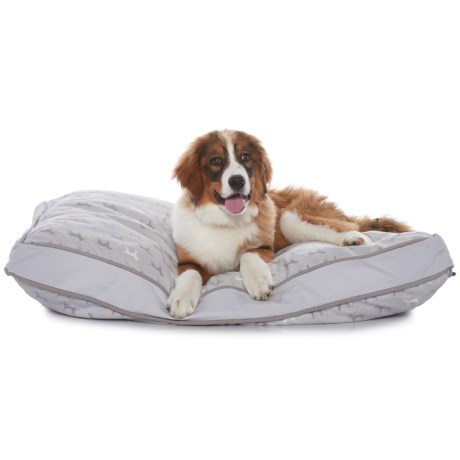 "Humane Society Multi-Dog Print Rectangle Bed - 28"" x 40"""