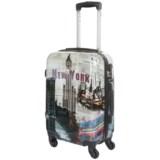 "DeJuno Dejuno New York Spinner Suitcase - Hardside, 28"""