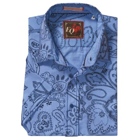 EQ by Equilibrio Vintage Bandana Print Shirt - Short Sleeve (For Men)