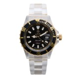 Ike Milano Lifestyle Bicolor Watch