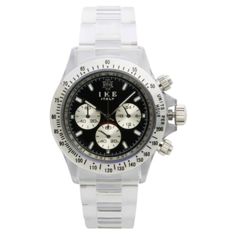Ike Milano Chronograph Watch - Bracelet