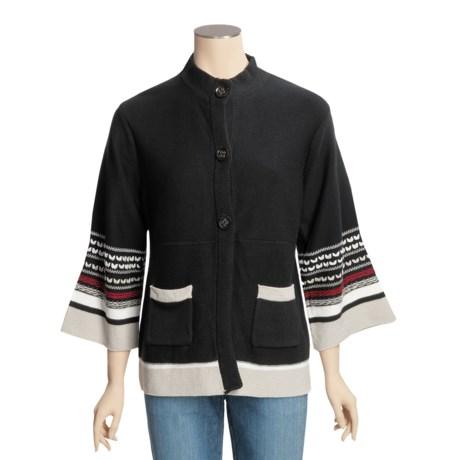 Columbia Sportswear Cotton Aura Dora Sweater - Mock Neck, 3/4 Sleeve (For Women)