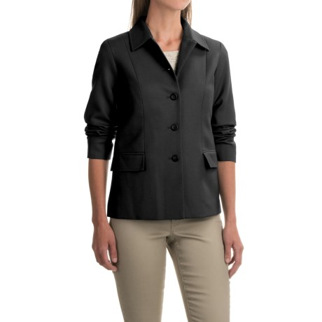 Pendleton Two-Pocket Solid Wool Jacket (For Women)