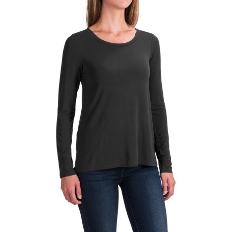 Cable & Gauge High-Low Shirt - Long Sleeve (For Women)