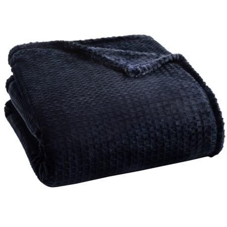 Berkshire Blanket Waffle Burnout VelvetLoft® Blanket - Twin