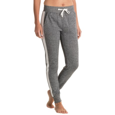 X by Gottex Side Panel Terry Joggers (For Women)
