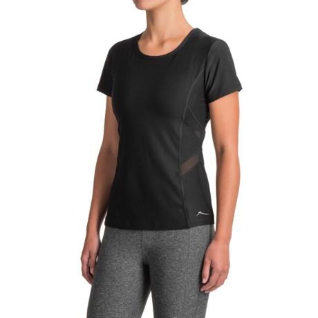 X by Gottex Mesh Trim Shirt - Short Sleeve (For Women)