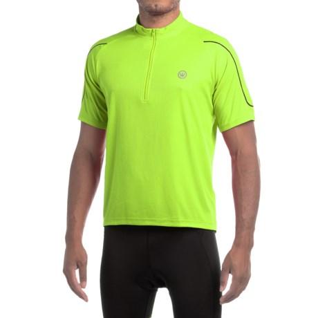 Canari Quest Sport Cycling Jersey - Zip Neck, Short Sleeve (For Men)