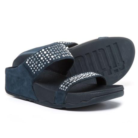 FitFlop Novy Slide Sandals - Nubuck (For Women)
