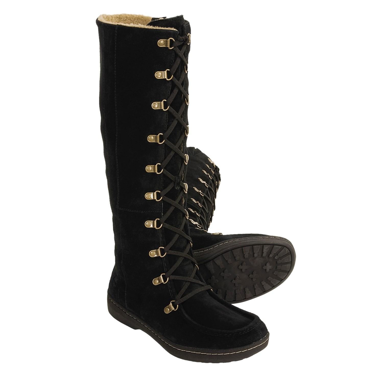 timberland winnicut tall winter boots for women 2780p. Black Bedroom Furniture Sets. Home Design Ideas