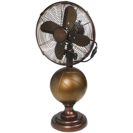 """Deco Breeze Sports-Themed Table Fan - 10"""""""