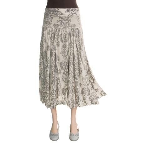 Stetson Medallion Burnout Skirt (For Women)