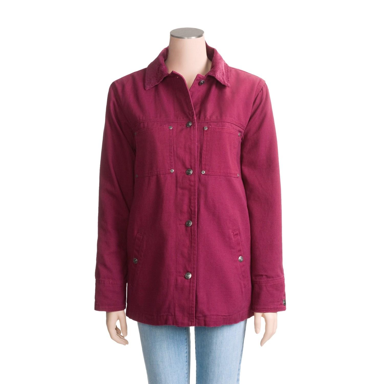 Roper Canvas Barn Coat (For Women) 2784R - Save 50%