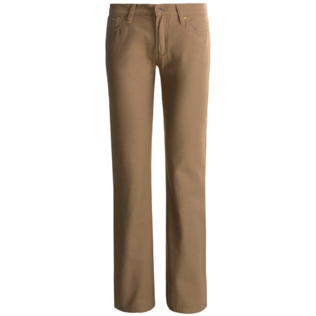 Stetson Brushed Slick Pants - 5-Pocket, Bootcut (For Women)