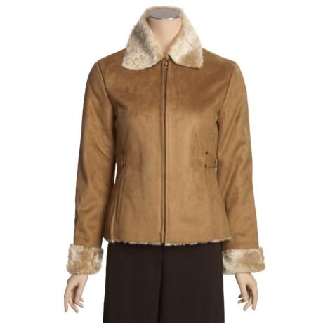 Columbia Sportswear Faux-Shearling Jacket - Side Buckles (For Women)