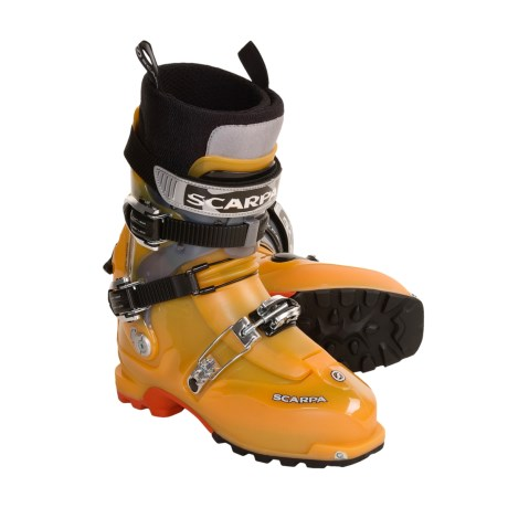 Scarpa Thermomoldable AT Ski Boots - Dynafit Compatible (For Men and Women)