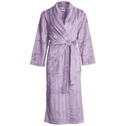 Coral Fleece Robe - Self-Tie Belt (For Women)