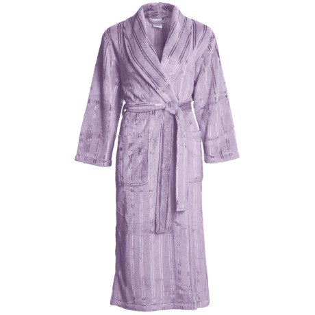 Coral Fleece Robe - Self-Tie Belt (For Women)