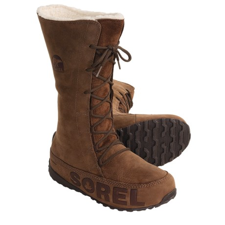 Sorel Shila Boots - Insulated, Leather (For Women)