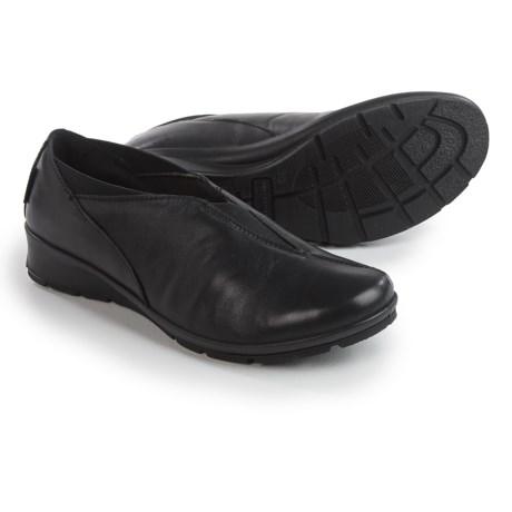 Flexus Kibut Slip-On Shoes - Italian Leather (For Women)