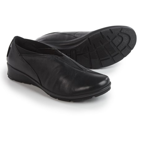 Flexus Kibut Slip-On Shoes - Italian Leather (For Women)