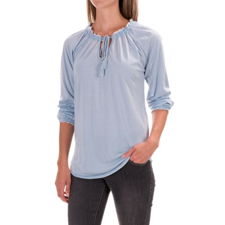 JAG Knit Peasant Top - Long Sleeve (For Women)