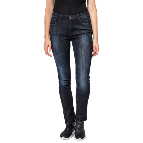 Dish dish denim Straight and Narrow Jeans - Mid Rise (For Women)